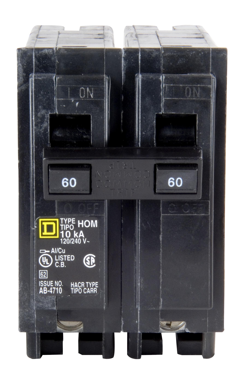 60 Amp Breaker >> Details About Square D Homeline 60 Amp Circuit Breaker Hom260 New